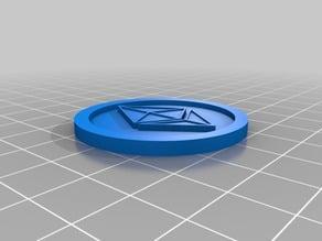 Ethereum Digital Coin 40x3mm v4