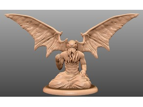 Winged Cthulhu - Tabletop Miniature