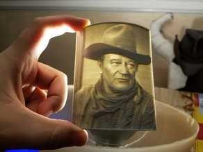John Wayne Lithophane