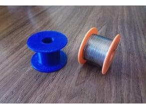 Solder wire reel