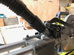 Ryobi Miter Saw Vacuum Adapter (TSS102L)