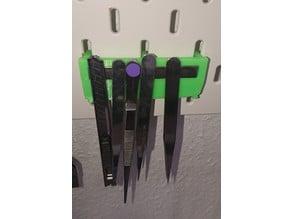 Magnethalter für IKEA-Skadis Lochwand
