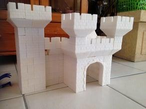 Blibloc castle construction toy like lego