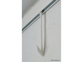 Hook for Artiteq Click Rail picture hanging system (schilderij ophangsysteem)