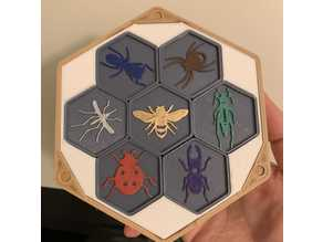 Hive board game with box