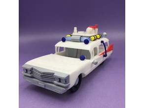 ECTO - Ghostbusters car