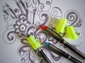 Pen holder for Silhouette Cameo.