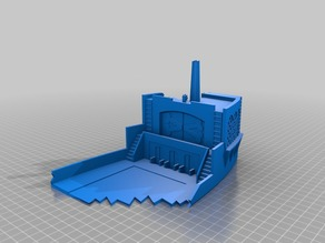 Remix - Pirate Dice Tower for a 200x200x135 high print surface