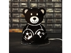 Teddy Bear LED Lamp