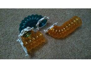 Hamster tube coupler