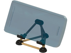Cell Phone Stand with Chopsticks