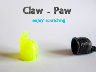 Customizable Finger With Nail - Claw Paw from scratch for scratching