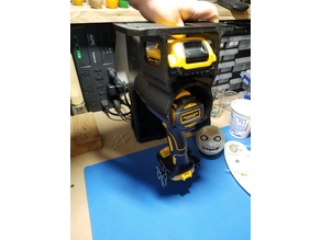 Drill/Driver Hanger Holder - Single Drill/Driver and Battery