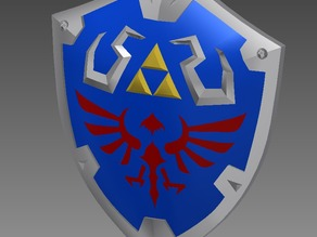 Legend of Zelda- Hylian Shield