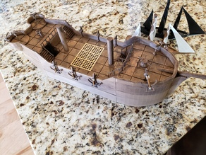 DnD Prop - Sailing Ship (Railings be gone)