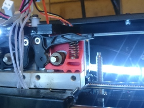 Filament feed drive guide for Wanhao Duplicator 4S