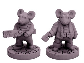 Mouse Pookah Fringers (18mm scale)