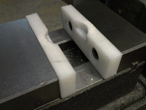 "Soft Jaws for a 3"" Little Machine Shop vise"