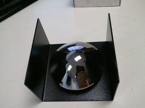 Hyperbolic stainless steel mirror