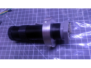 Raspberry Pi Camera C-mount lens adapter