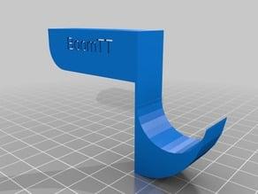 Handset's hook on monitor's corner BoomTT