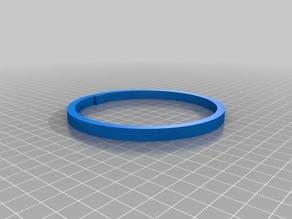 Cylinder Maze Ring