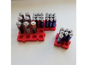 Puzzle Battery Organizer