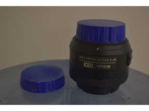 Rear lens cap for Nikon F-mount, Thicker Body