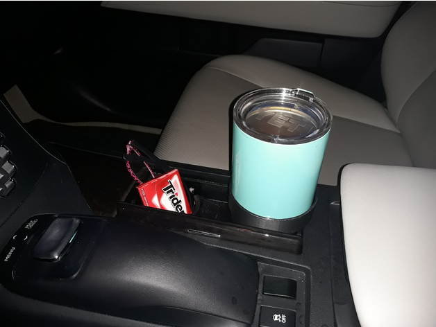 Lexus Is 350 >> Yeti 10 ounce cup holder car adpater by Kisssys - Thingiverse