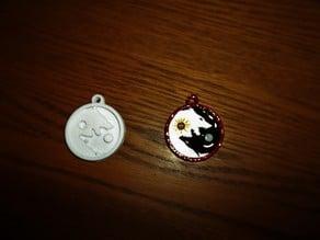 SKOLL & HATI pendant