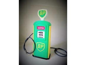 BP Vintage Gas Pump Desk Charger