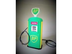 BP Vintage Gas Pump Desk Charger