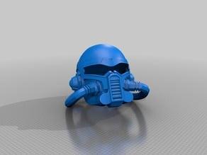 SWTOR Trooper Helmet Black Hole Demolisher
