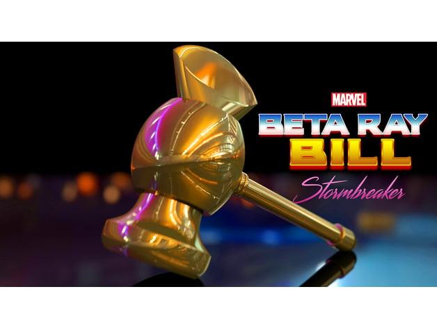 Beta Ray Bill Stormbreaker Hammer by TheBrokenNerd83 ...