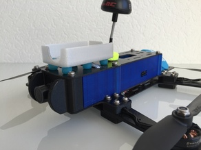 Side panels for r.250 FPV race quad from untestedprototype
