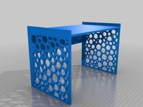 Mini Desk Stand (Bubble Pattern) - Lasercut
