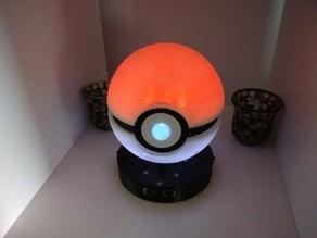 Iluminated Pokeball light