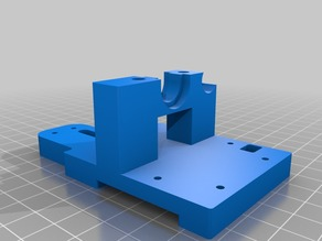 HCEvo - Extruder Mount for Cable Chain