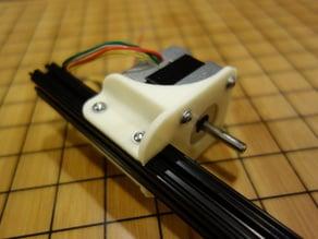 OpenBeam Parallel motor mount