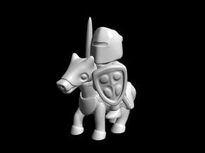 knight riding