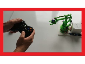 Xbox Controller Programable Robotic Arm