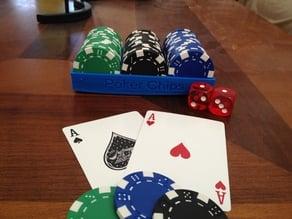 Simple Poker Chip Holder