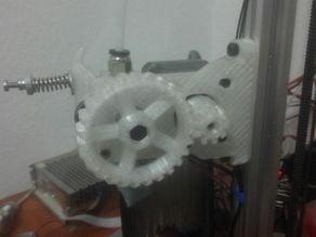 MK8 Gear Extruder for Kossel