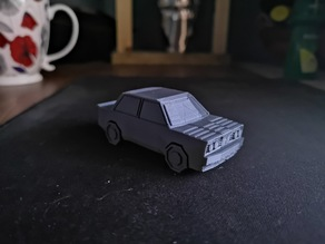 Low Poly Drift Car