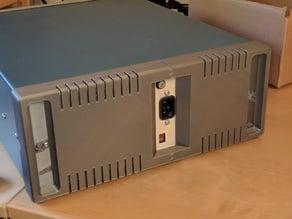 Rear panel for Tektronix 2225 oscilloscope
