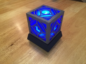 Light Base for Jedi Holocron: https://www.thingiverse.com/thing:2678538
