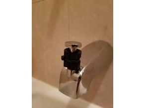Bath tub shower lock