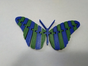 Two Color Flexi Butterfly