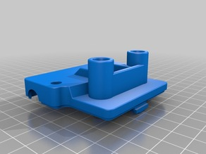 FlashForge Dreamer Carriage Cover Plate With PTFE Sockets