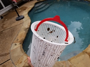 Pool Skimmer Basket Handle